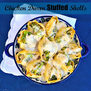 Chicken Divan Stuffed Shells In Dijon Sauce