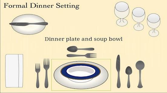 Table Setting Cheat Sheet- screenshot thumbnail