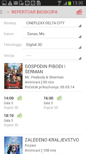 Cineplexx Srbija- screenshot thumbnail
