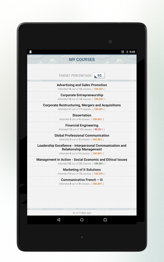 AMIZONER (for Amity Students) - screenshot