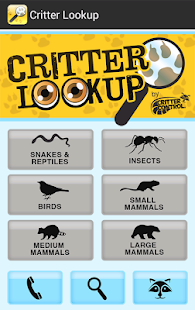 Critter Lookup- screenshot thumbnail