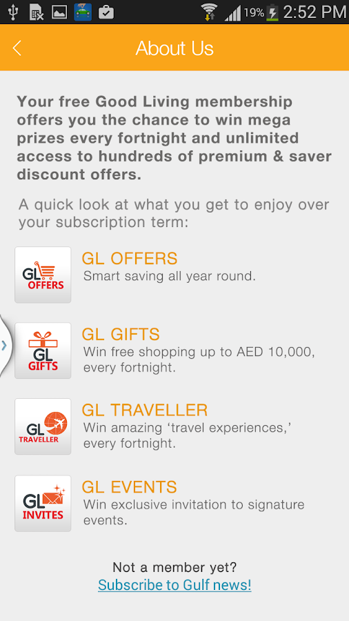 Gulf News Good Living- screenshot