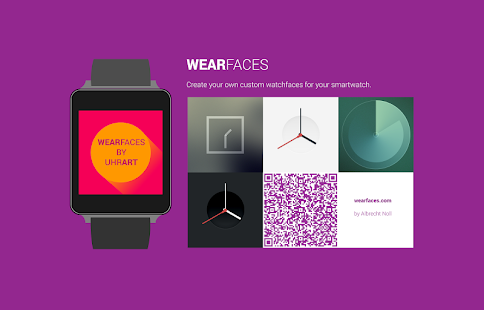 Android Wear Faces Creator Screenshot
