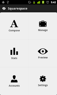 Squarespace Manager - screenshot thumbnail