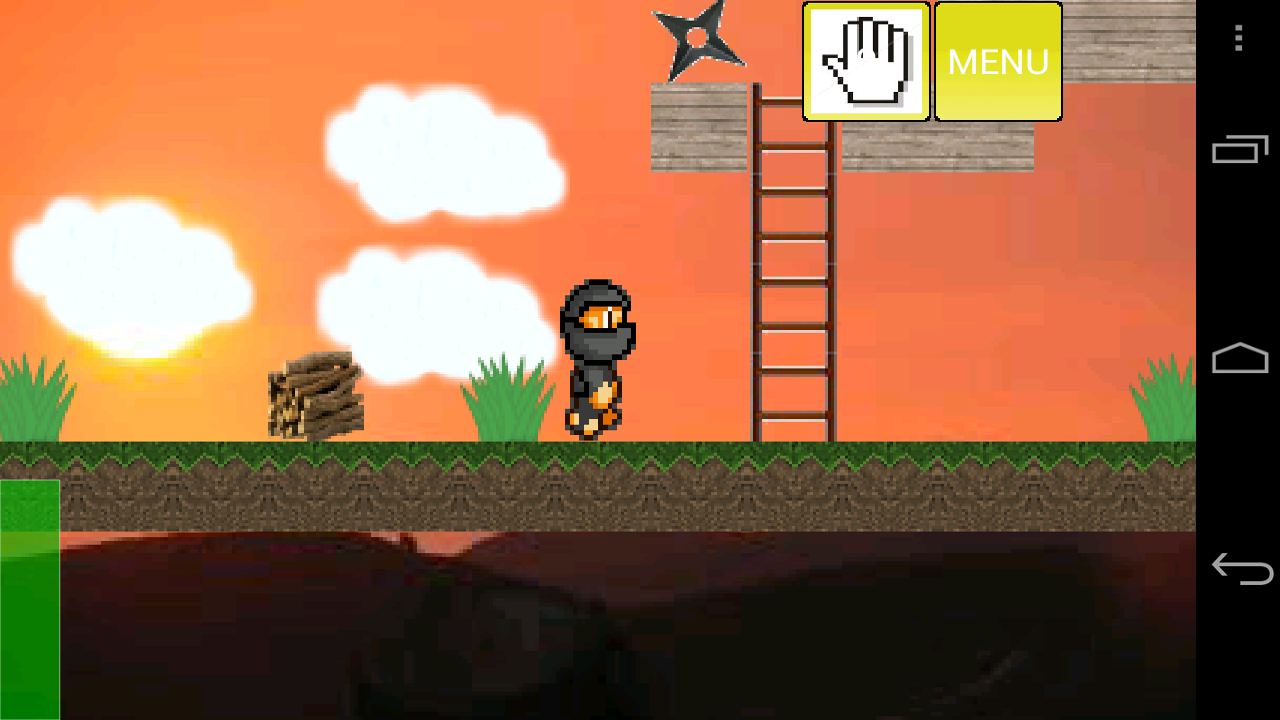 Ninja Platformer! (Full)- screenshot