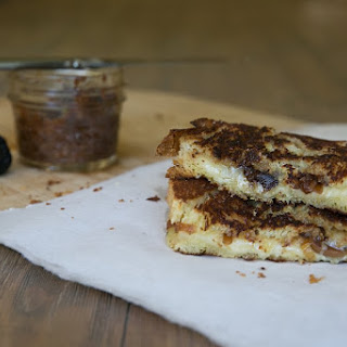 Grilled Cheese with Fig Jam
