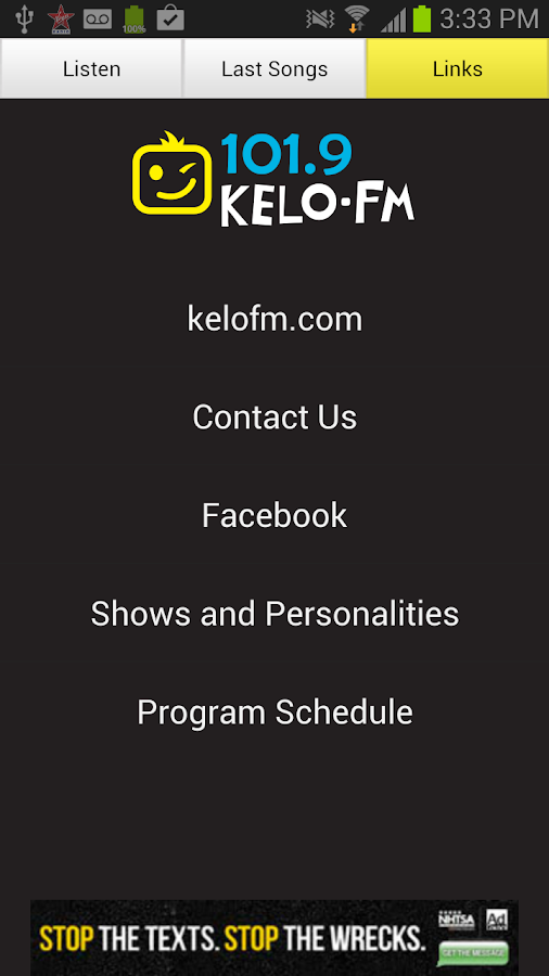 101.9 KELO-FM- screenshot