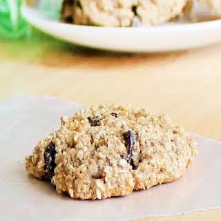 Flourless Oatmeal Raisin Cookies.