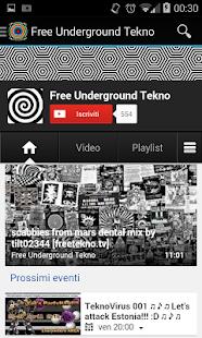 Free Underground Tekno Screenshot 5