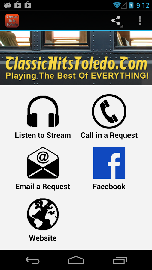 Classic Hits Toledo - screenshot