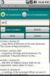 United States Constitution- screenshot thumbnail