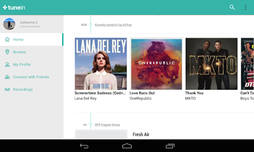 TuneIn Radio Pro - Live Radio Screenshot 26