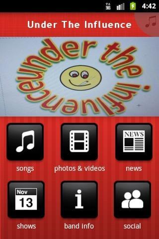 Under The Influence - screenshot