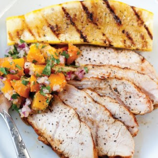 Turkey Tenderloin with Apricot-Ginger Relish.