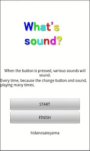 what's sound- screenshot thumbnail