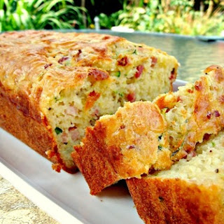 Bacon & Cheddar Zucchini Bread