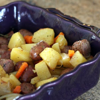 Roasted Potato and Sausage Dinner
