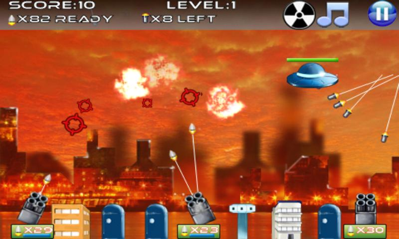Missile Defense- screenshot