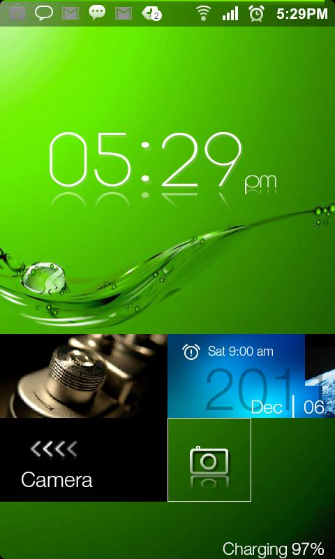 Windows 8.1 Pro Lockscreen - screenshot