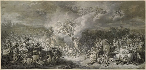 The Combat of Diomedes,1776