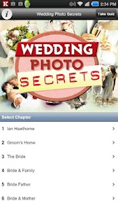 Wedding Photo Secrets screenshot 0