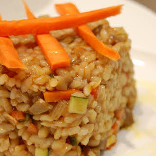 Baked Vegetarian Rice.