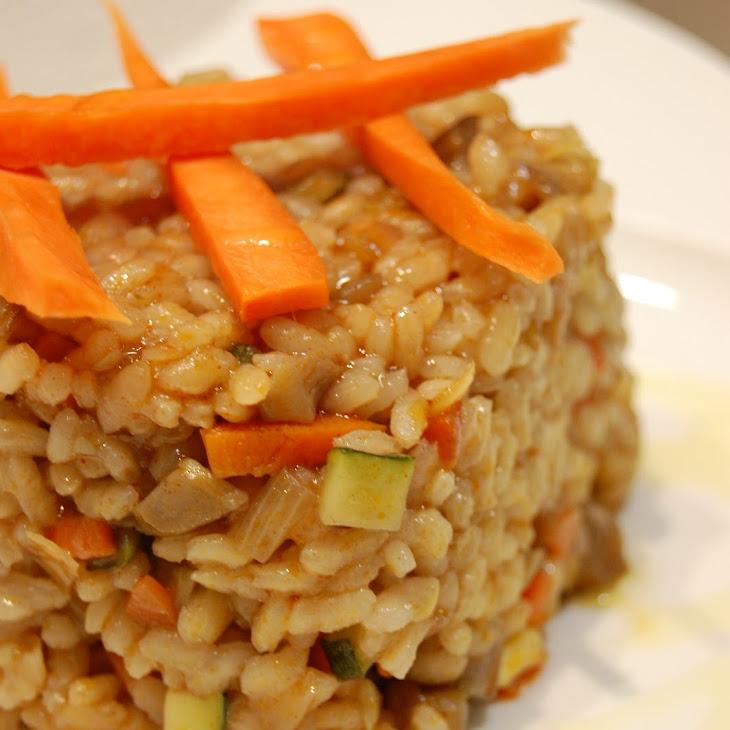 Baked Vegetarian Rice Recipe