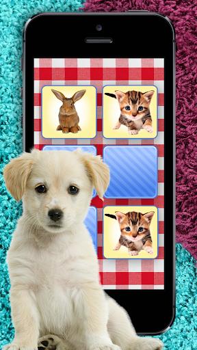 兒童寵物益智記憶拼圖遊戲