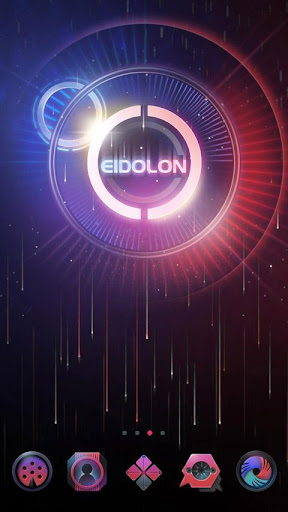 EIDOLON GO Launcher Theme