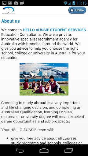 Hello Aussie Student Services
