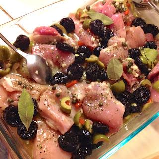 Chicken Marbella- The Silver Palate Cookbook