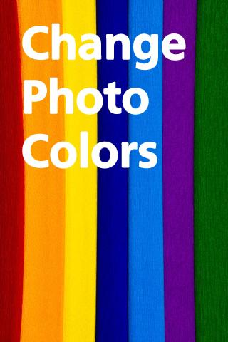 Change Photo Colors