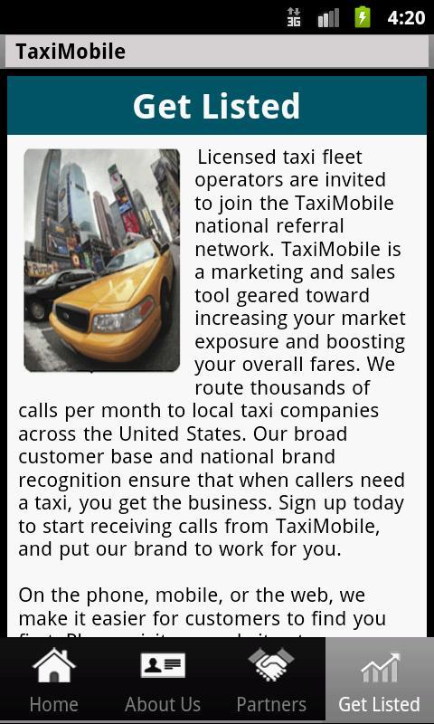 taximobile- screenshot