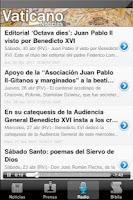 Screenshot of Vaticano Noticias Radio Biblia