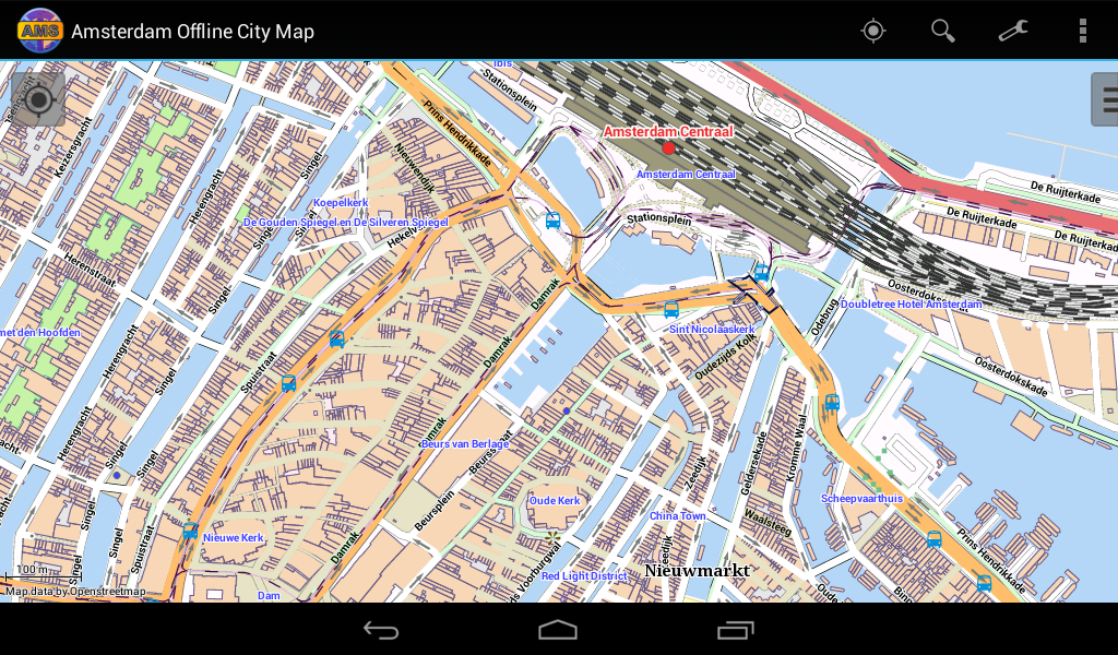 amsterdam offline city map android apps on google play. Black Bedroom Furniture Sets. Home Design Ideas