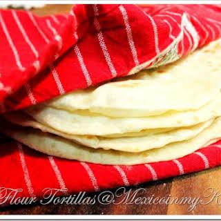 How To Make Flour Tortillas Recipe/Receta de Comó Hacer Tortillas de Harina.