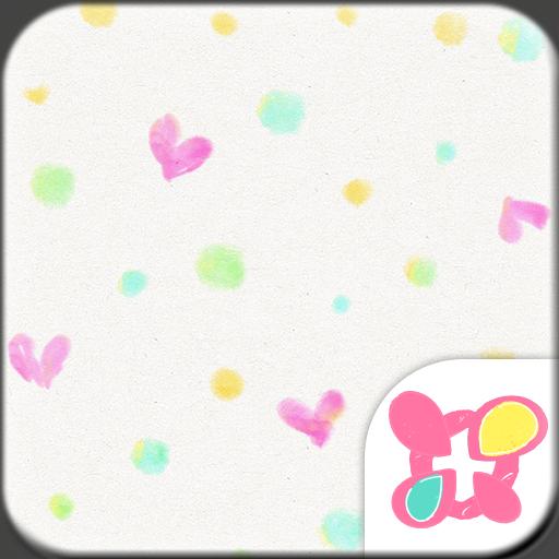 Heart Theme ColorfulPolkaDots Icon