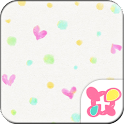 Heart Theme ColorfulPolkaDots icon