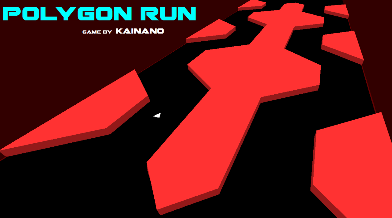 Polygon Run Free- screenshot