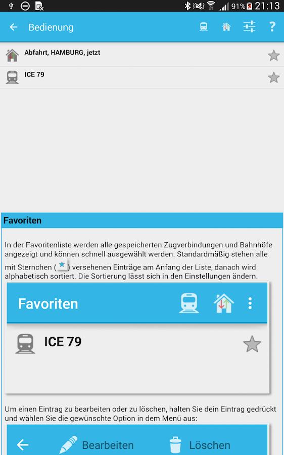 Ist mein Zug pünktlich? - screenshot