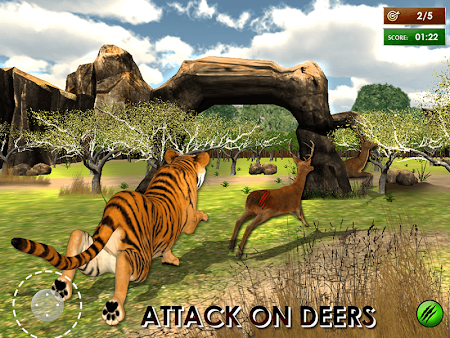 Wild Tiger Jungle Hunt 3D 1.7 screenshot 69919