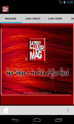 Latest Hair Magazine - LHM+