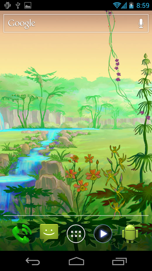 Luminescent Jungle HD - screenshot
