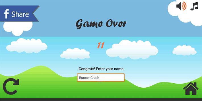 Runner Crush apk screenshot