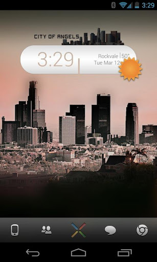 Los Angeles Skyline UCCW Skin