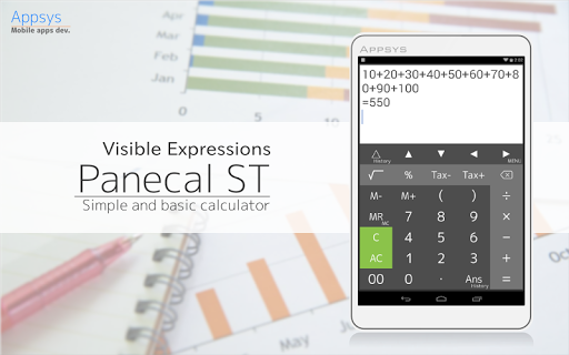 Calculator PanecalST Plus