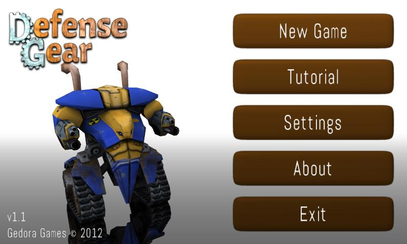 Defense Gear- screenshot