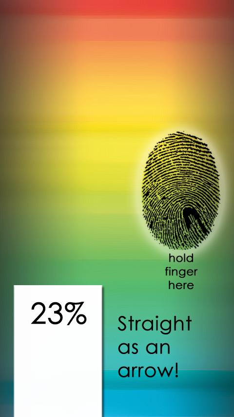 Gay Meter Fingerprint Scanner - screenshot