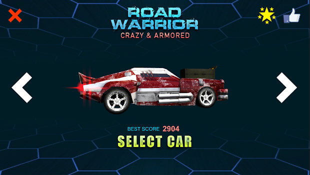 Road Warrior - Crazy and Armored