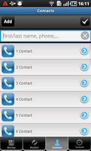 All-In-One Contacts - screenshot thumbnail